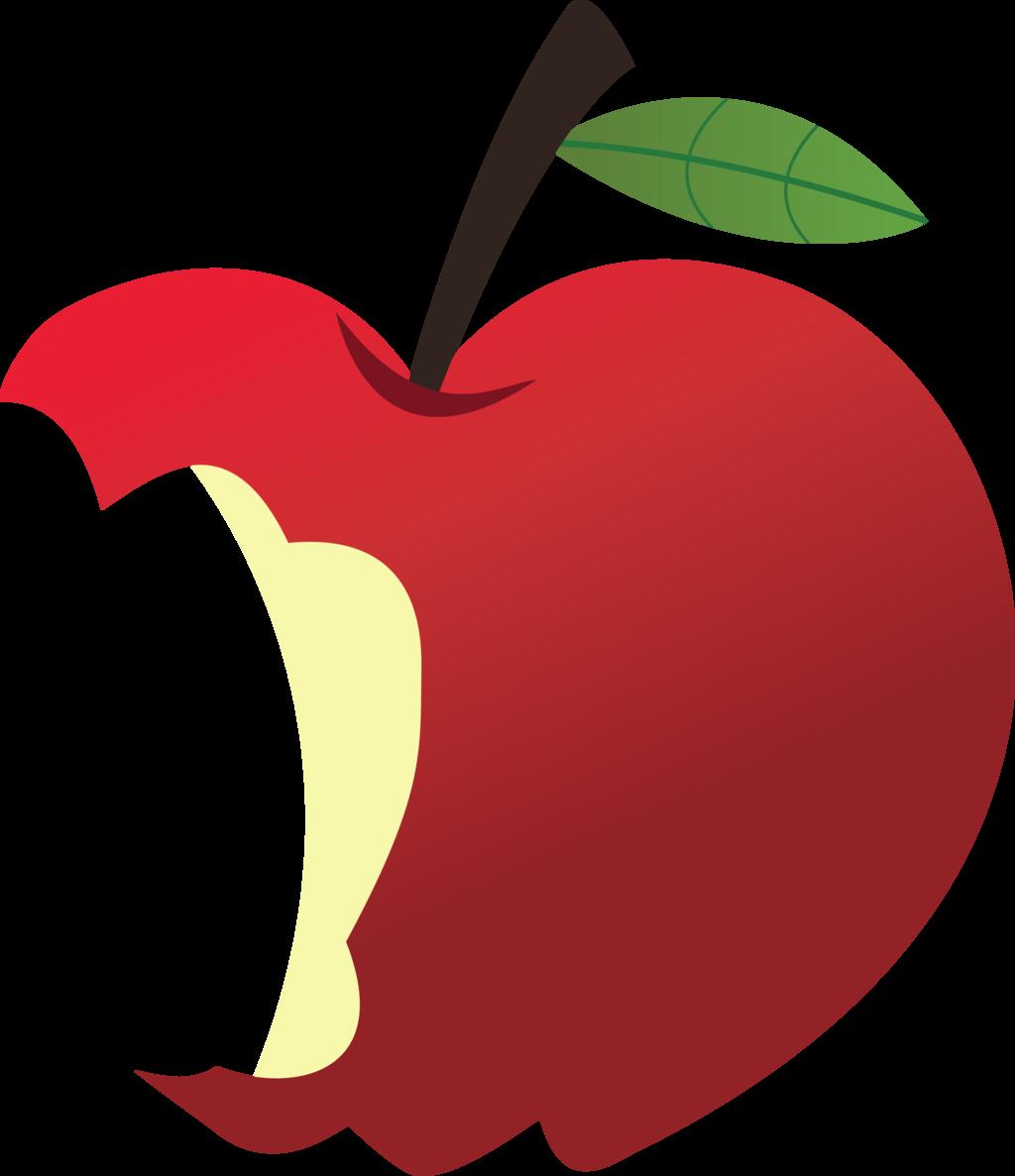 Bitten Apple Clipart