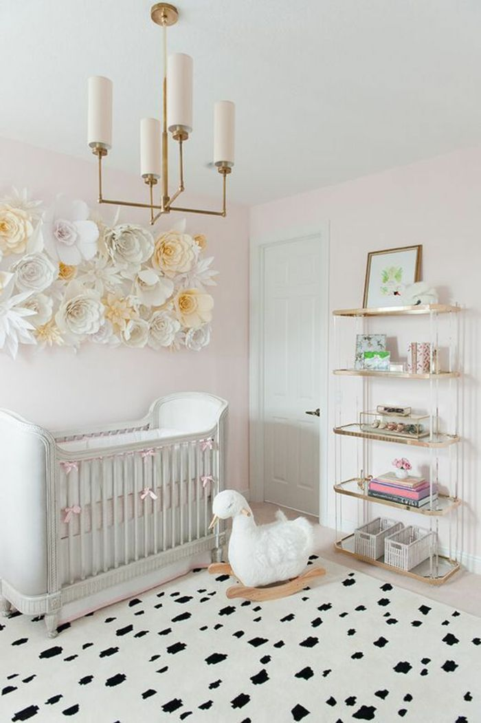 1001 ideen f r babyzimmer m dchen tolle kinderzimmer designs interior design baby girl room. Black Bedroom Furniture Sets. Home Design Ideas