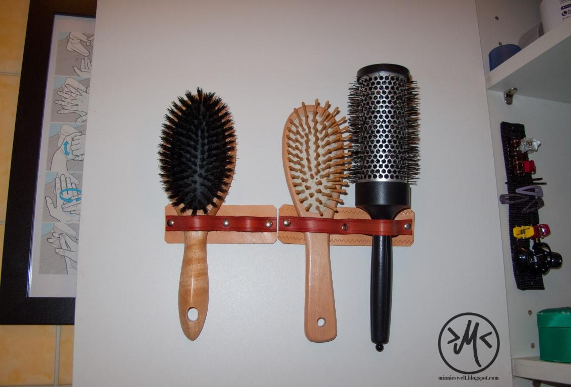 Ode An Die Ordnung Haarbursten Aufbewahrung Burstenhalter