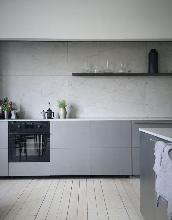 25 Zeitlose Grau Küche Dekor Ideen | Diyundhaus.com #greykitchendesigns