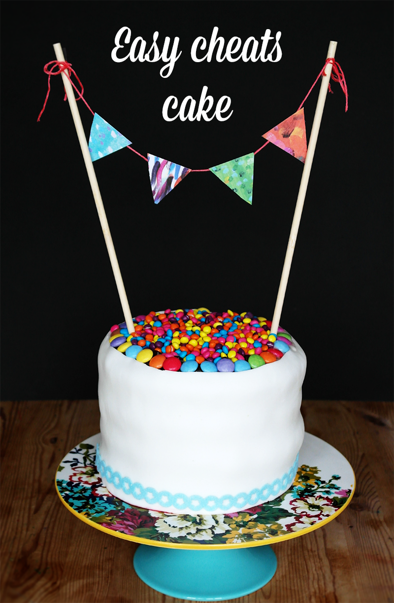 Cheats Easy Party Cake Recipes Cake Cake Decorating