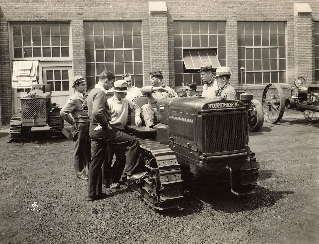 Teaching People About the McCormickDeering Tractor, 1934