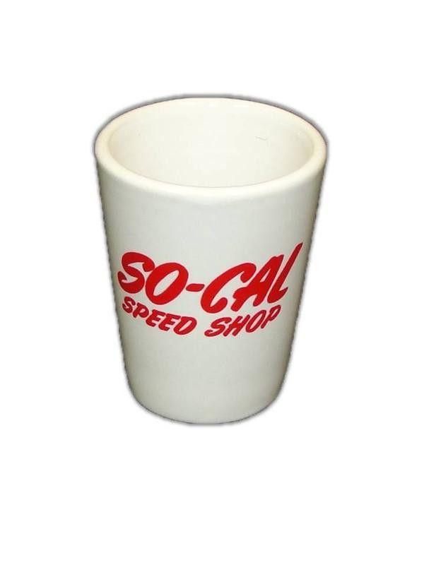 SoCal Ceramic Shot Glass