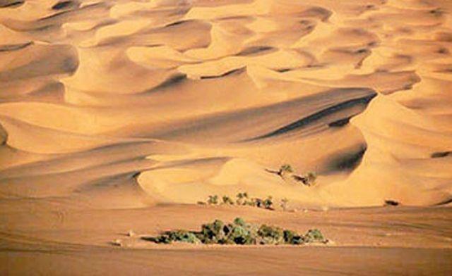 An Nafud Desert Map