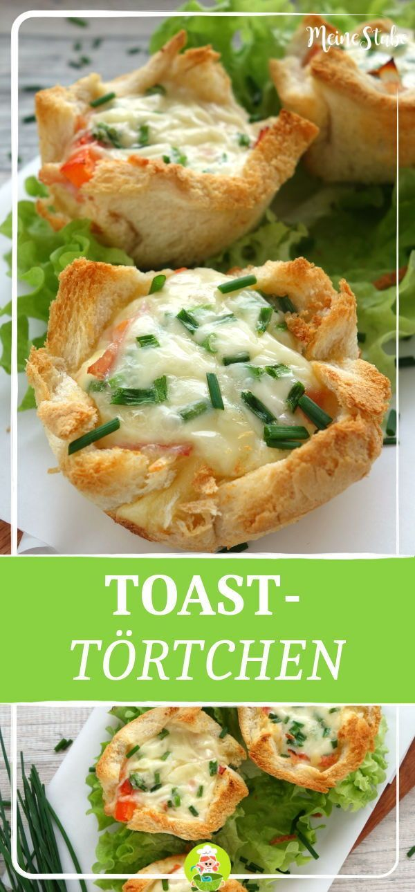 Photo of Toast tarts with ham, tomatoes and cheese – MeineStube