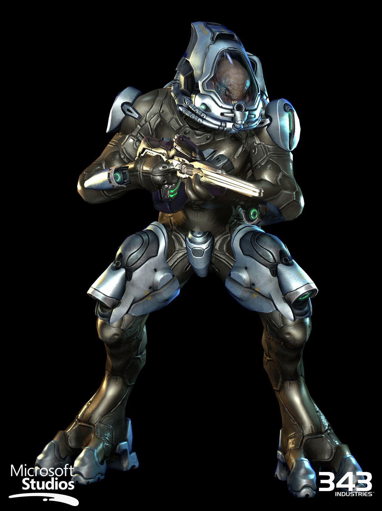 ArtStation - Halo 4 - Space Elite / Elite Techsuit, Kyle Hefley ...