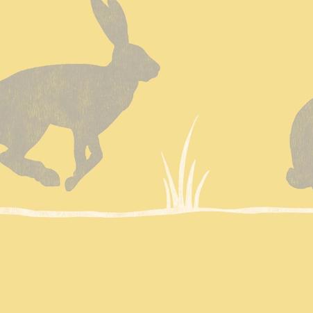 Mustard Rabbit Wallpaper B And Q 12 Rabbit Wallpaper Diy Wallpaper Wallpaper