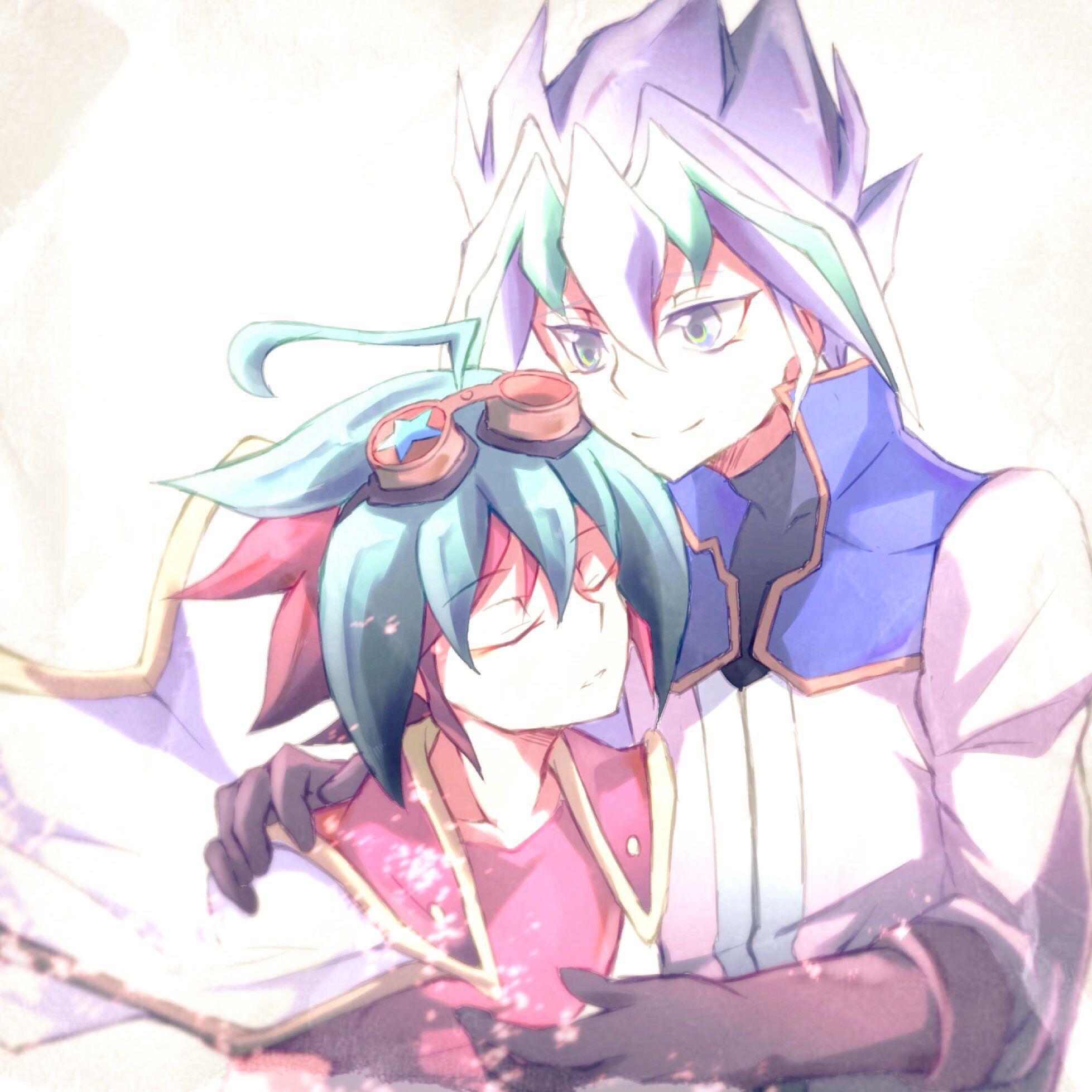 Yu Gi Oh! Arc V - Yuya And Zarc