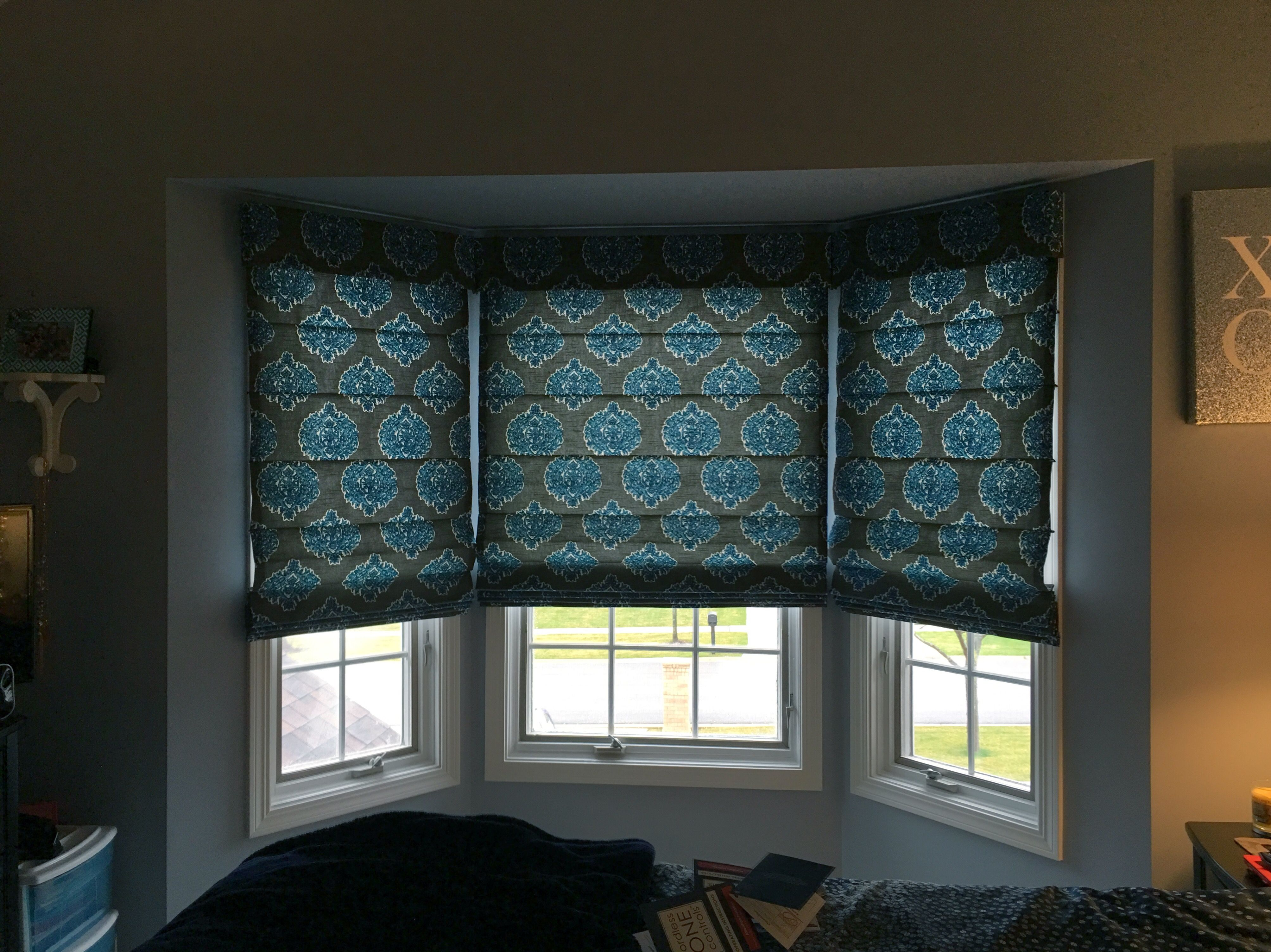 Roman Shades Offer A Rich Look Without The Weight Of Drapery