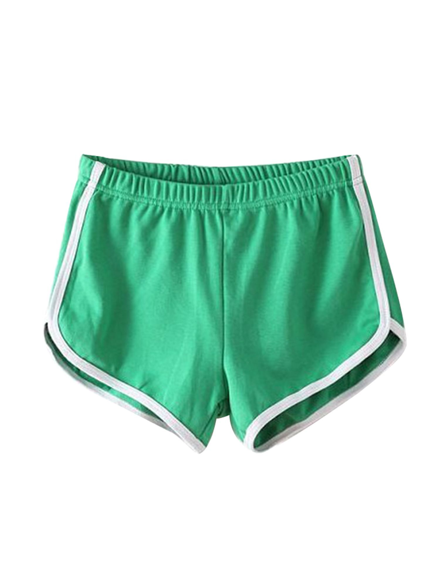 Casual Beach Shorts for Women Yoga Fitness Shorts Striped Sports Gym Running Jogging Lounge Hot Pant...