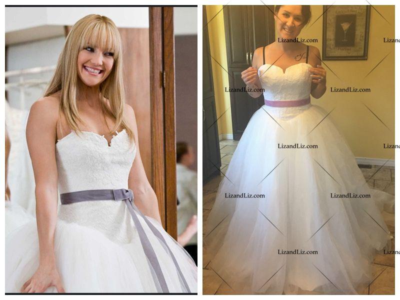 kate-hudson-wedding-dress-bride-wars | celebrity dress | Pinterest ...