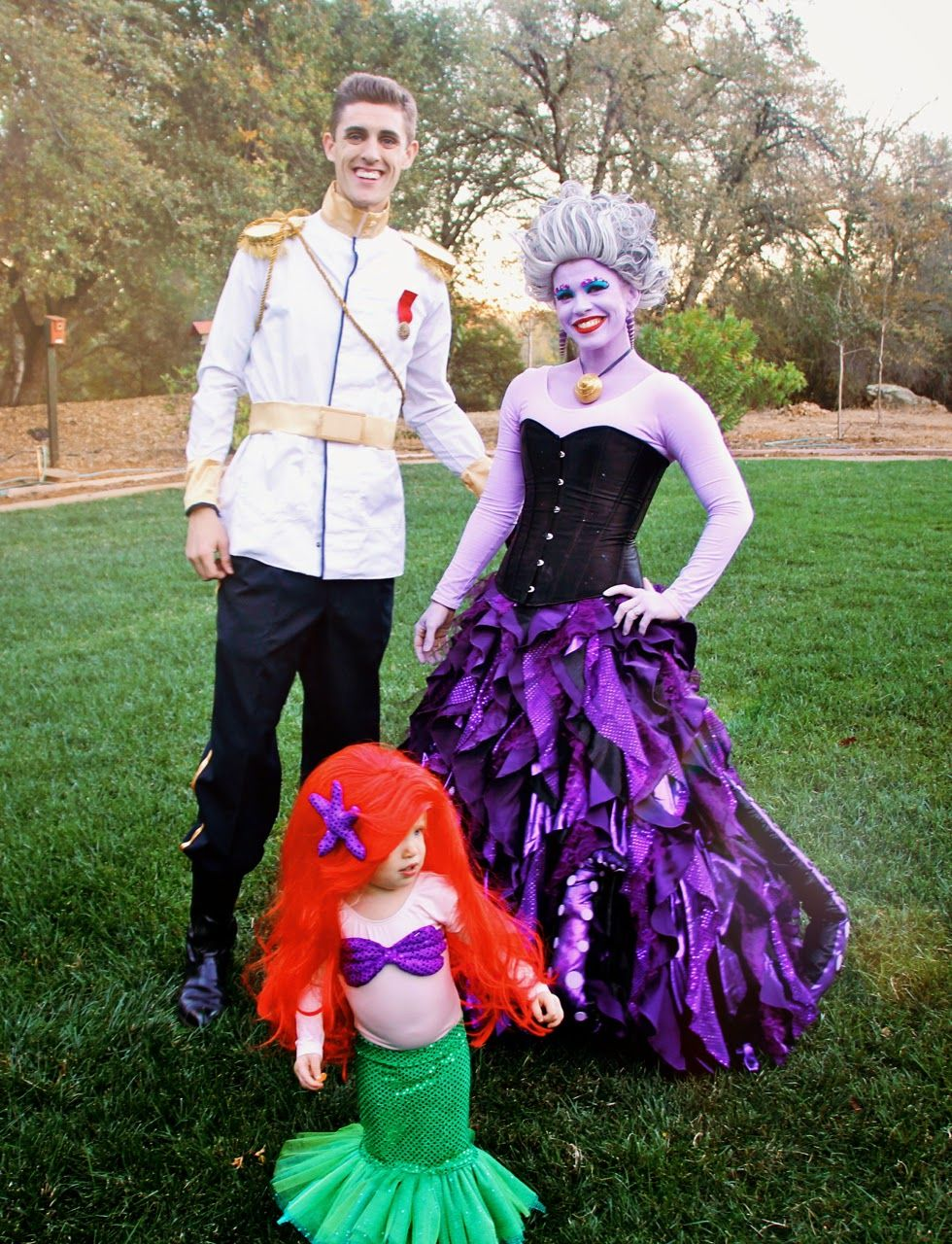 Family halloween costumes you can make yourself ursula happy family halloween costumes you can make yourself solutioingenieria Gallery