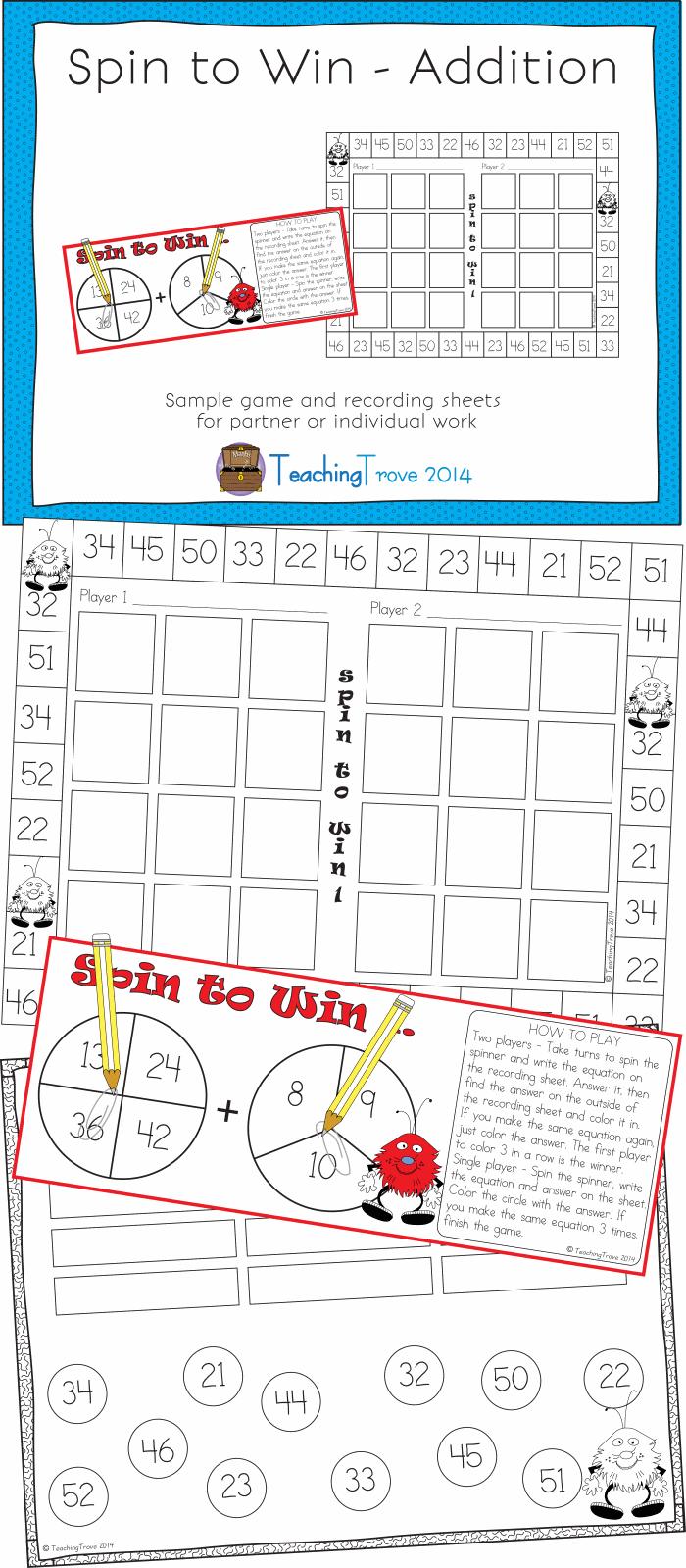 Addition Game Math School Homeschool Math Basic Math [ 1599 x 700 Pixel ]