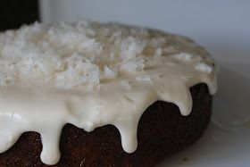 Moments with the Montano's: Coconut Rum Cake