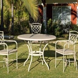 Mobiliario en forja para terraza y jard n colecci n for Mobiliario terraza jardin