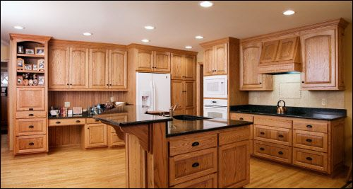 Interior Kitchen Oak Cabinets image result for light oak kitchen cabinets kitchens pinterest and kitchens