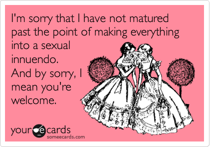 That's what she said. @maureen mahoney!!