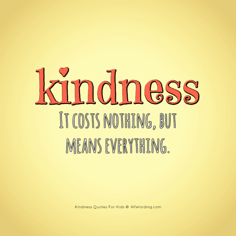 Kind Words Cost Nothing Motivational Inspirational Quote Poster Print Wall Art