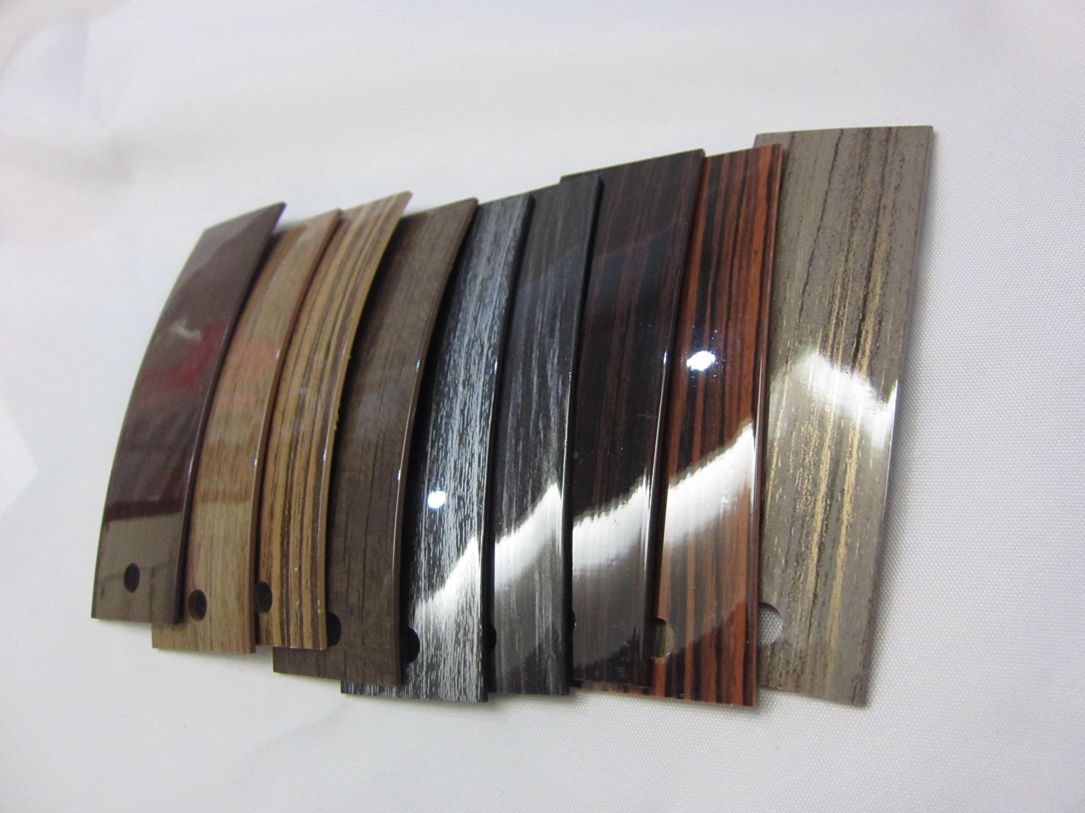 High Gloss Wood Grain Pvc Edge Banding High Highgloss Woodgrain Pvcedgebanding Email Hs07 Edginghengsu Com Wood Grain Leather Bracelet High Gloss