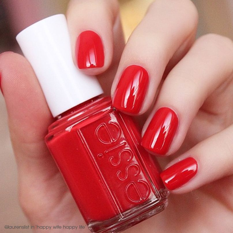 Essie Nail Polish Orange Shades: @laurenslist Is All Dolled Up In A Gorgeous 'happy Wife