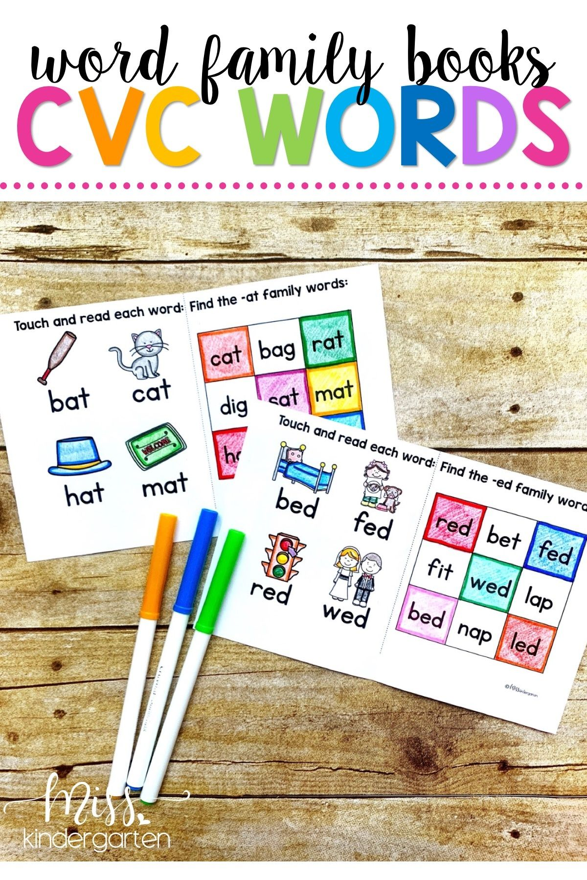 Pin On Cvc Words Practice