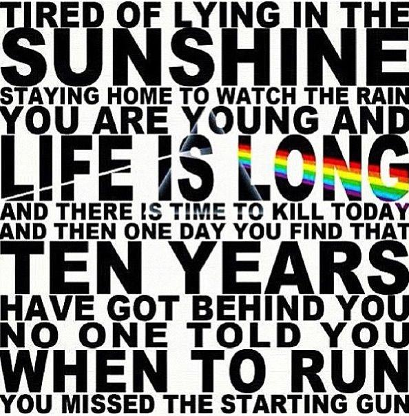 Time. Pink Floyd 1973