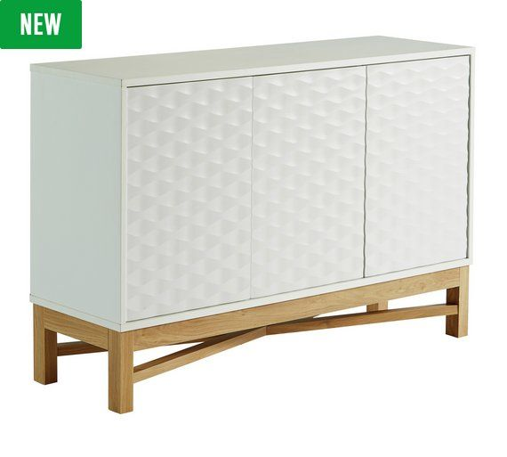 Buy Hygena Zander Textured Sideboard
