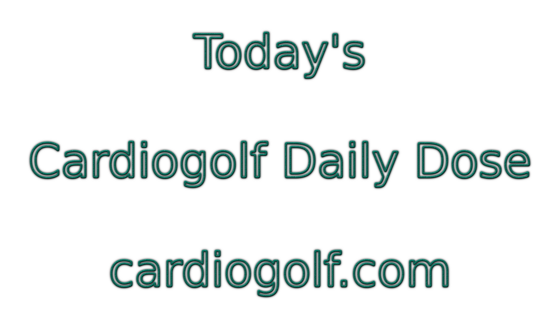 Challenges Archive - Cardiogolf Video Golf Fitness Training
