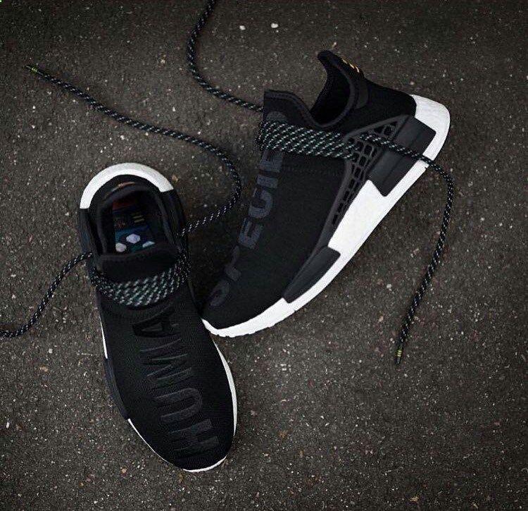 info for f7d53 3c9d2 Adidas NMD x Pharrell Williams. Black Hu. Clothing, Shoes Jewelry   Women   adidas  shoes amzn.to 2j5OwIR