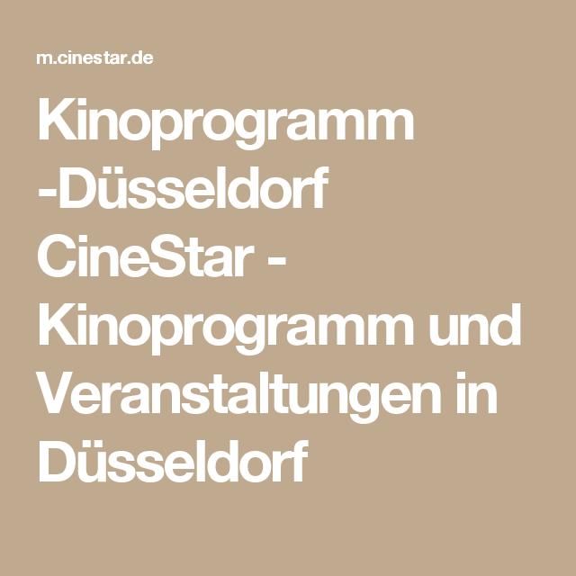 Kinoprogramm In Düsseldorf
