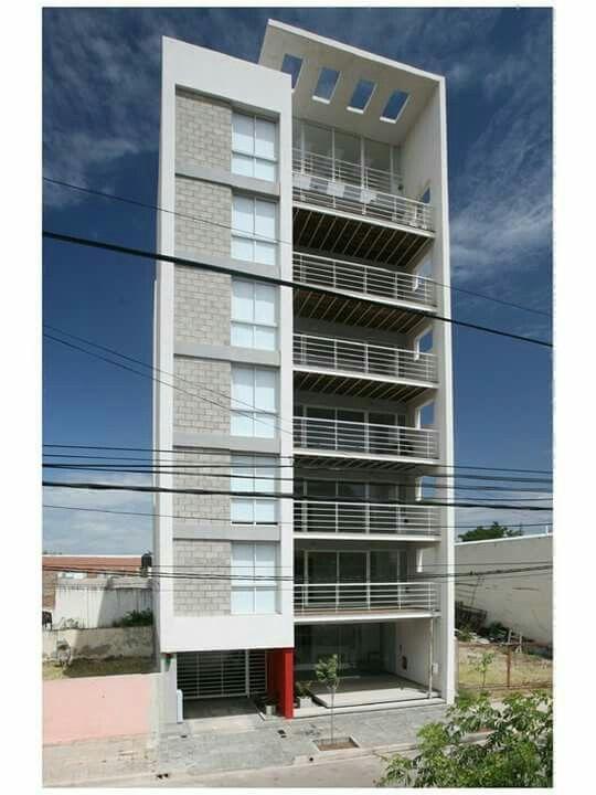 Vivienda multifamiliar multifamiliar facade for Fachadas de edificios modernos