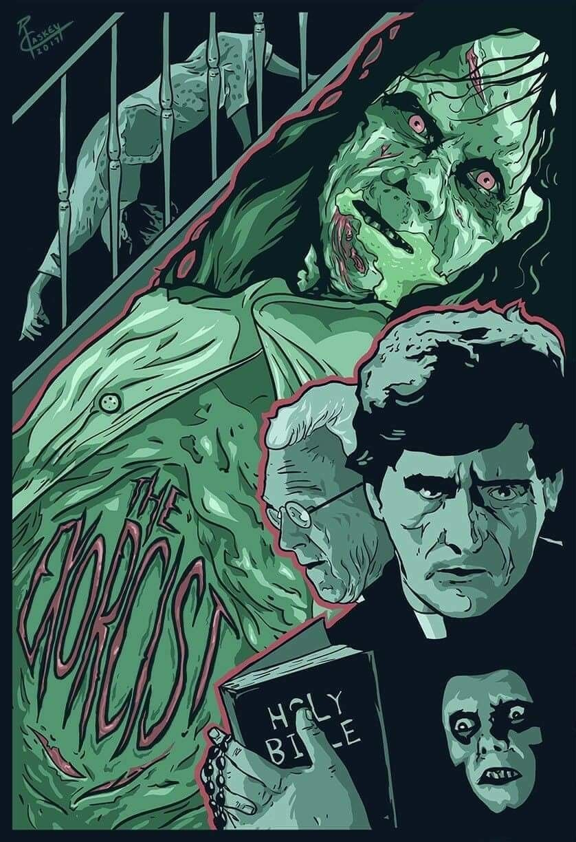 NEW 1973 The Exorcist Movie Poster Wall Art USA 11x17 13x19