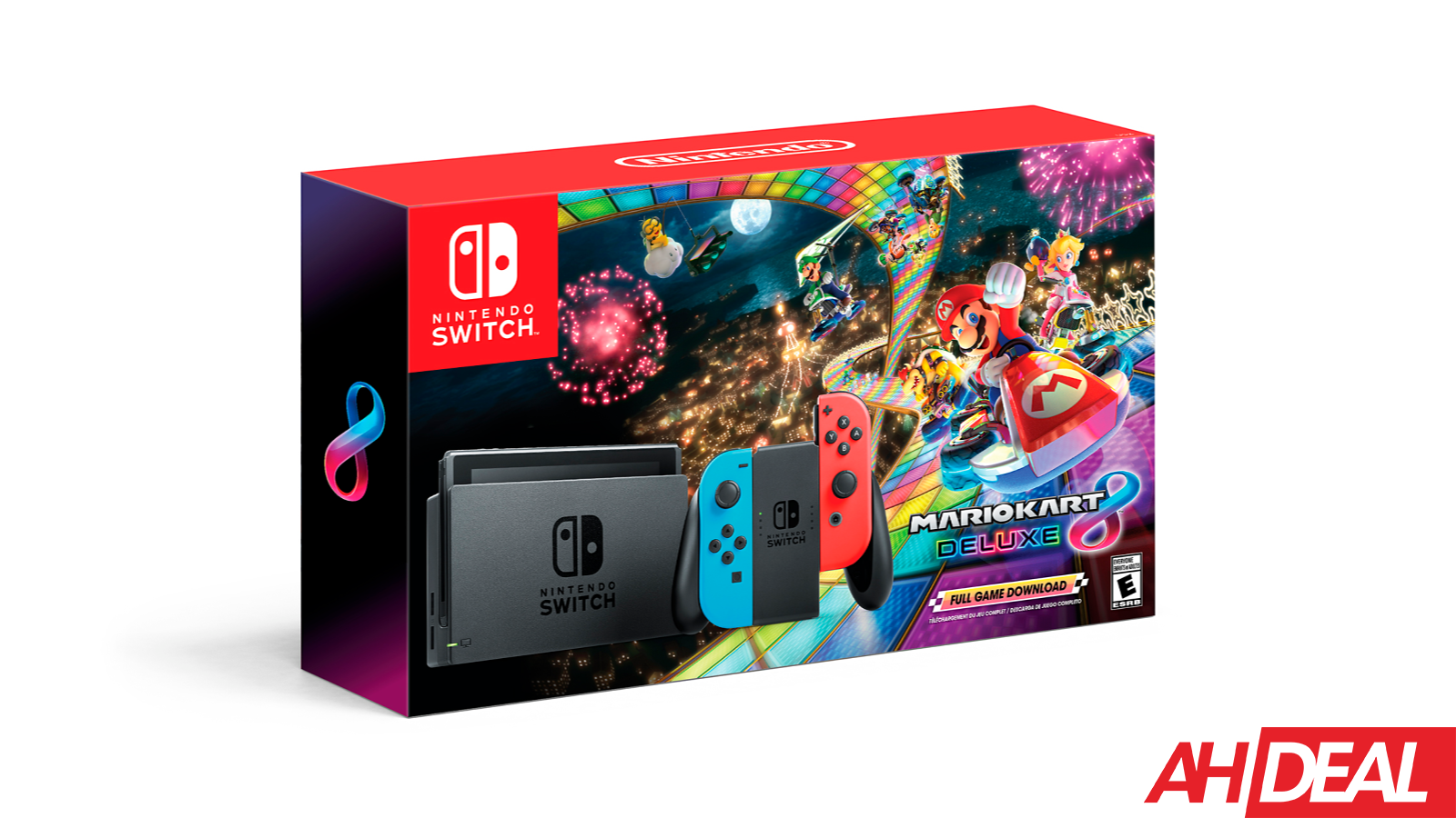 Nintendo Switch With Mario Kart 8 Deluxe 299 Walmart Black Friday 2018 Deals Buy Nintendo Switch Nintendo Switch System