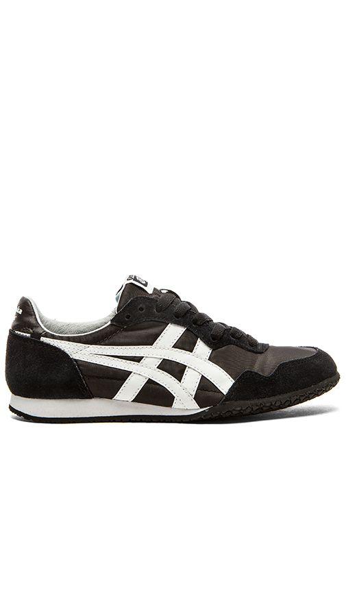 Shop for Onitsuka Tiger Serrano Sneaker in Black & White