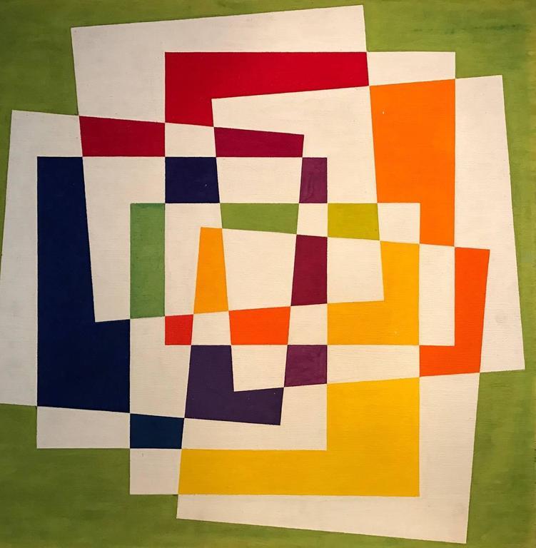 Douglas Herbert Courtenay Auburn Abstract Painting