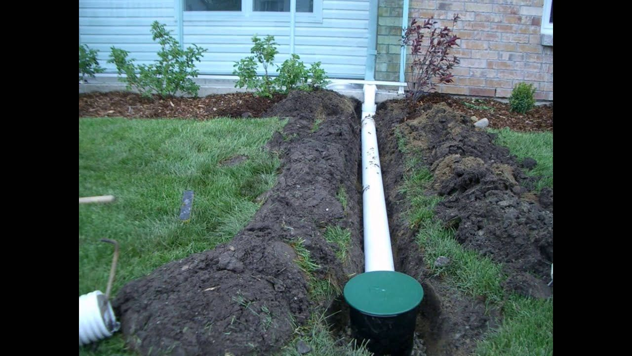 diy drainage solutions backyard | Backyard drainage ...