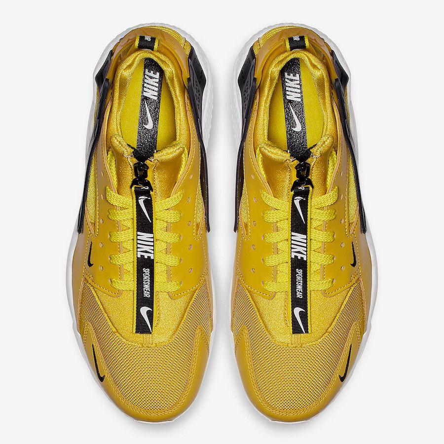 Nike Air Huarache Zip Black, Purple, Yellow Release Date - SBD ...