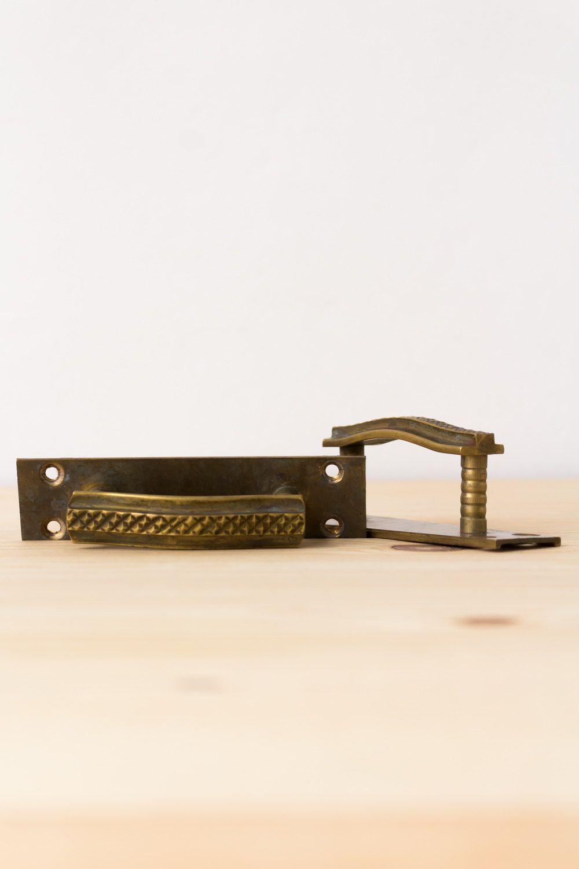 Brass drawer pulls vintage cabinet pulls dresser pulls cabinet knobs