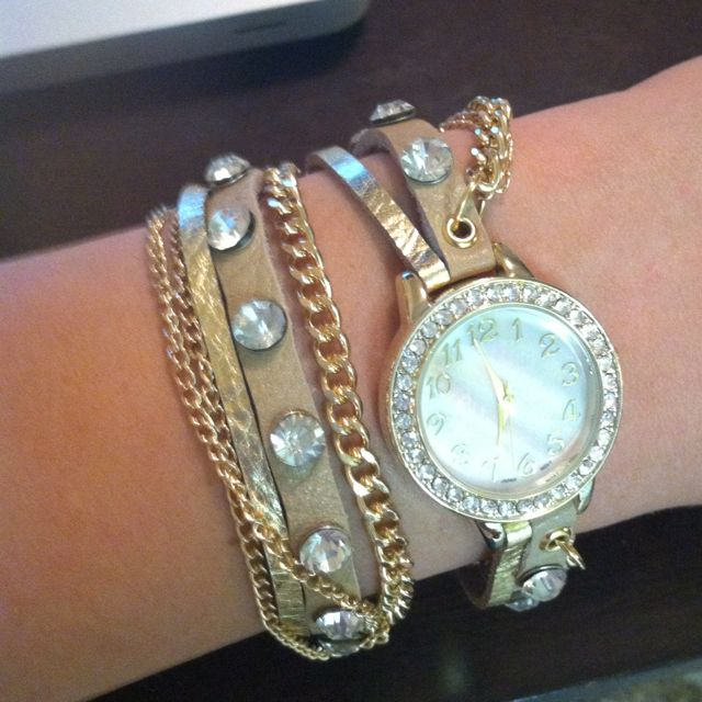 Bracelet watch :) Repin #200000000