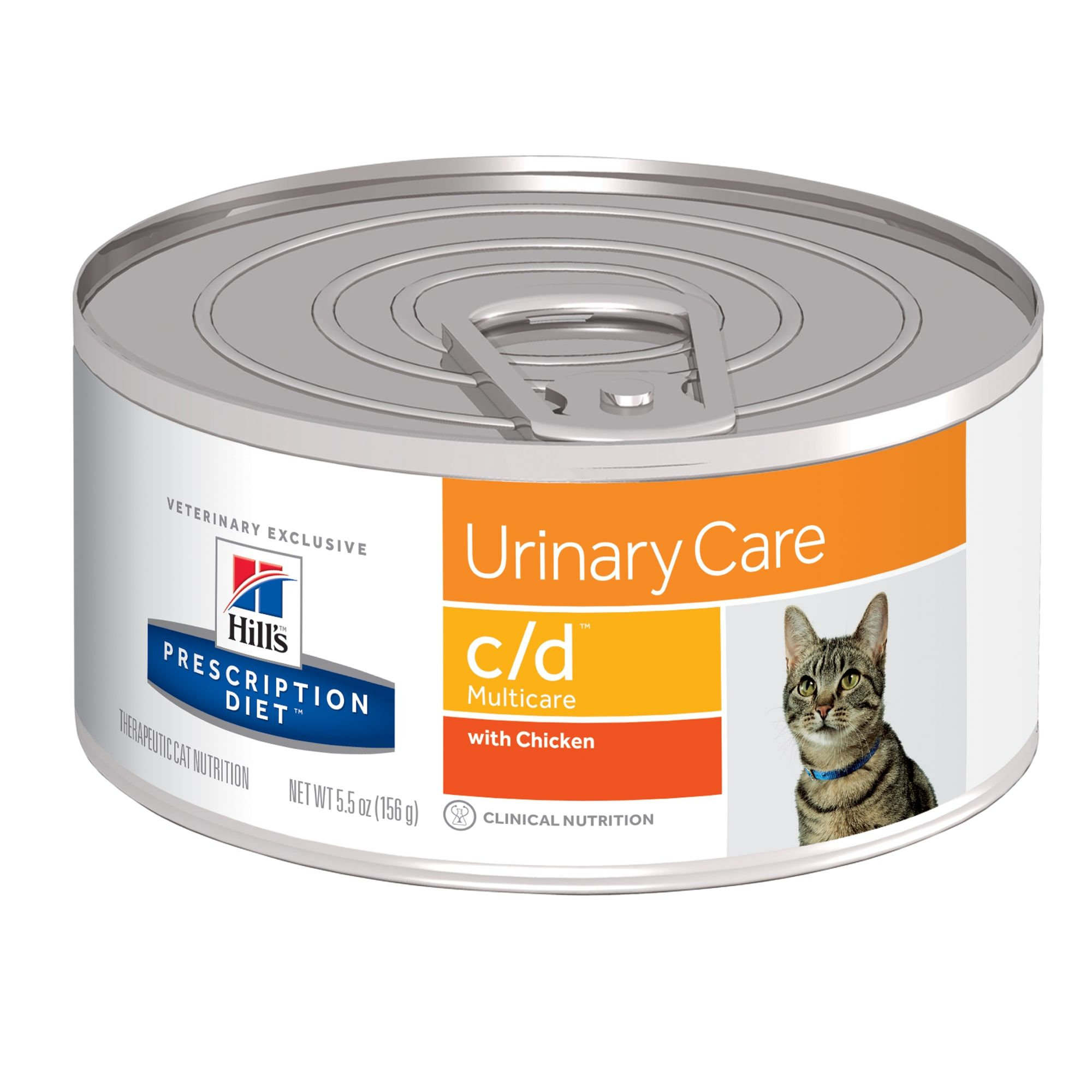 Hill S Prescription Diet C D Multicare Urinary Care With Chicken Canned Cat Food 5 5 Oz Case Of 24 24 In 2020 Canned Cat Food Hills Prescription Diet Wet Cat Food
