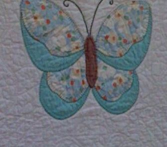 Butterfly Quilt- my grand daughter likes butterflies.