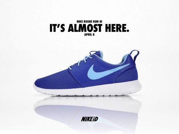 Nike Roshe Run iD Drops Tomorrow 4/8