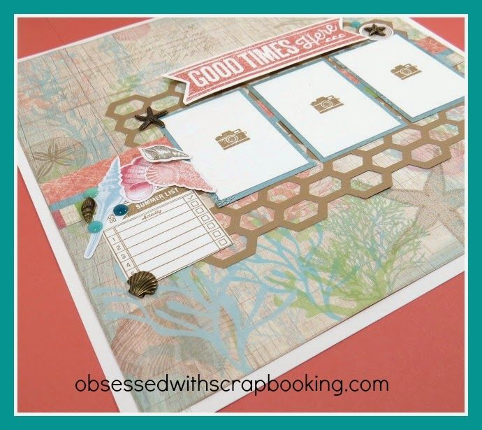 Obsessed With Scrapbooking Close To My Heart Artbooking Seaside