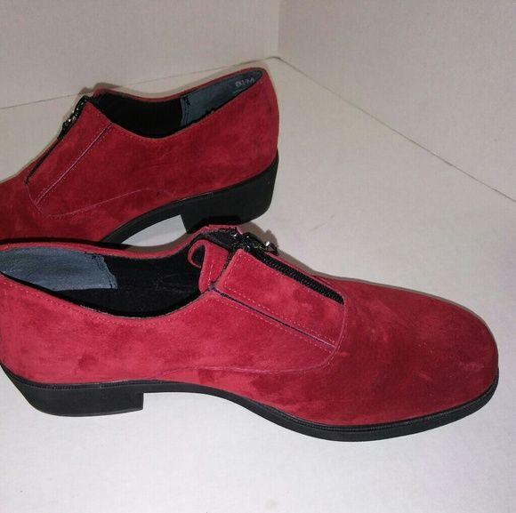 Hush Puppies Red Sued Women Shoes Women Shoes Shoes Hush Puppies Shoes