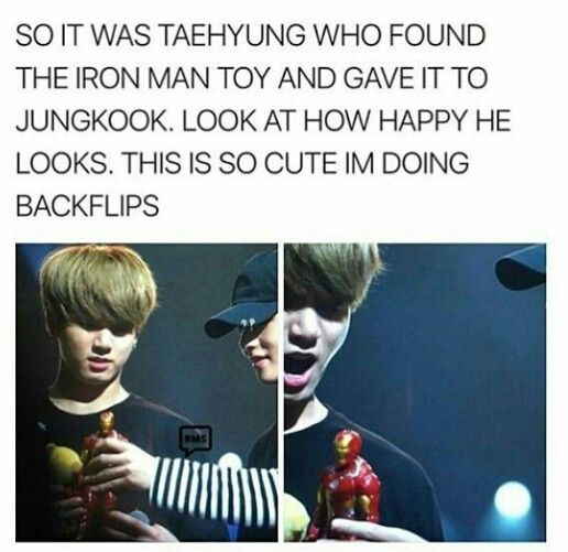 Photo of I don't ship TaeKook therefore I love their friendship. Look at how surprise Koo…