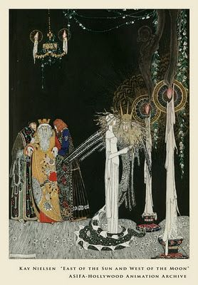 with ink made of stars...: Illustrious Illustrator: Kay Rasmus Nielsen
