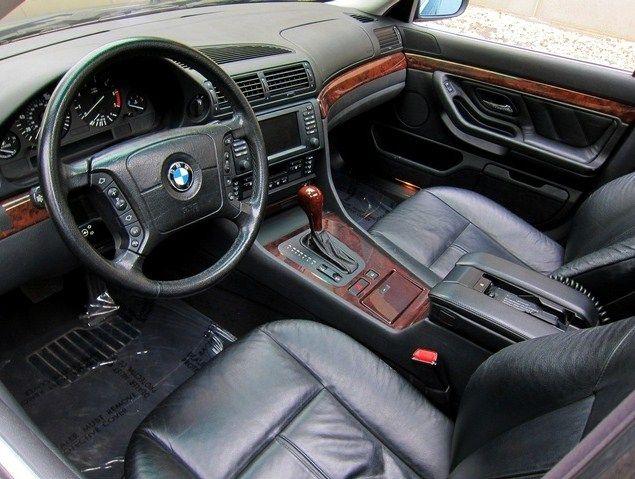 2001 Bmw 740i Interior Bmw 740 Bmw E38