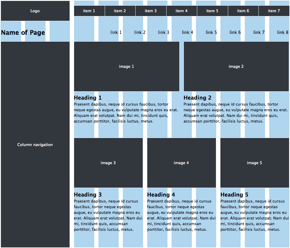 Wireframe Effectively On The New Improved 970 Grid System Grid System Css Grid Grid