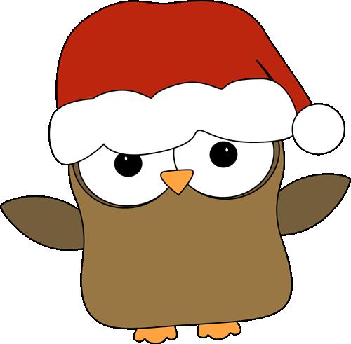 Christmas Owl Clip Art | CLIP ART - CHRISTMAS 1 - CLIPART ...