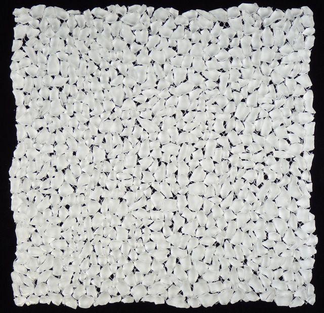 Bright White Raindrop Gl 91 Unique Shapes Glacier Series Glossy Modern Tile